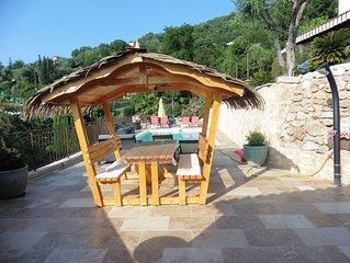 St Jeannet (pres de Nice) villa indep av terrasse et jardin privatif