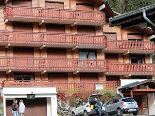 Ensoleillé,  plein sud avec balcon, 4 personnes .