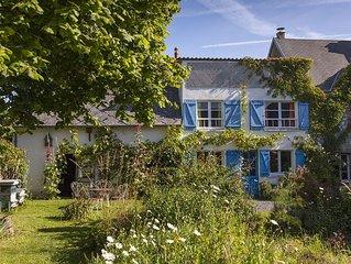 Gîte rural de 6 pers. en Normandie entre bocage, mer et plage près de Granville.
