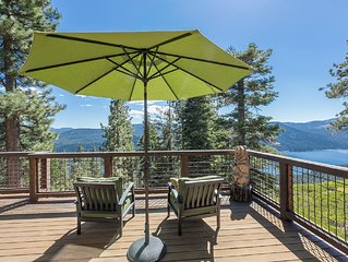 NEW LISTING - Luxury 4 BR Tahoe Donner Home with Amazing Views