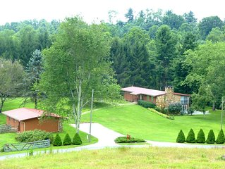 The Lodge * Mayberry on 18 Acres And A Lake/Pond on The Blue Ridge Parkway