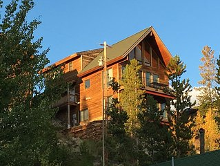Unobstructed views of Grand Lake, Shadow Mountain Lake  and Mount Craig (Baldy)