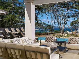 Luxury Oceanfront Offering In Gated Community In Tamarindo/langosta. 6 Br, 6.5ba