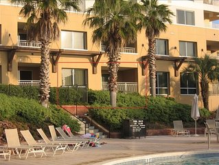 Skip Elevator! Ground Flr/Pool Side! Largest 1BR in Luau w/beds for 5. Tram!