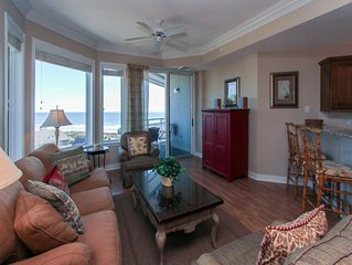 2511 Sea Crest- 5th Floor Villa with Great Views of the Ocean in Forest Beach!