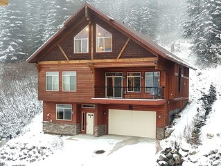 Newest, Best Group Rental on Schweitzer-Sleeps 20+, Nothing Compares, Ski in/out