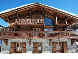 Hot tub,sauna,log fire,sun deck,dog friendly, luxurious chalet in Zinal/Grimentz
