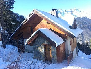 Beautiful 6 bedroom chalet next to ski slope at heart of Alpe D'Huez ski area