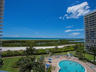 Breathtaking Beachfront Views from this Gorgeously Renovated Condo!