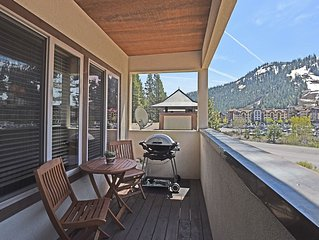 Squaw Valley Condo With Mountain Views