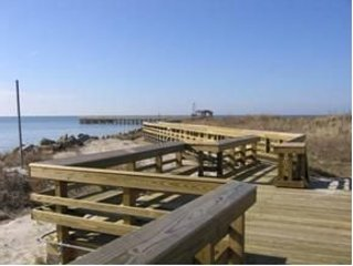 Cape Charles Pier.  FIshing License not required.