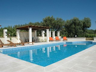 Delightful countryside villa with private pool set in a beautiful garden.