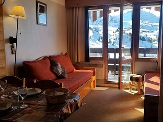 Belle Plagne 2 room apartment 4/5 pers. the slopes