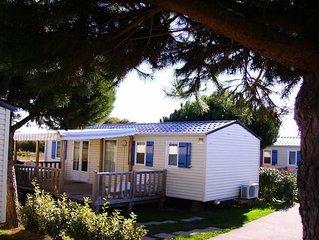 Camping Le Bel Air***** - Mobil-Home 4 Pieces 6/8 Personnes Feerique
