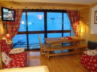 Appartement de 50 m2 avec 2 balcons et une vue splendide