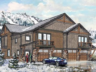 Location, Space & Privacy! 3 bedroom +Den Sleeps 10-12 Walk to Gondola-Ski View