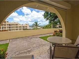 Private Beach, Free WiFi! Deluxe Studio, Oceanside Resort, St.Martin- 2.6 km