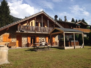 Stunning Chalet in St Jean d'Aulps - with quick access to Portes Du Soleil