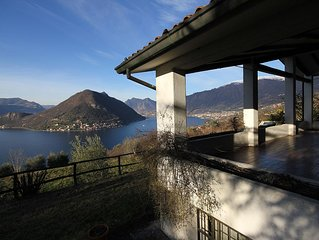Villa privative vue imprenable sur lac Iseo - Sulzano