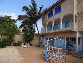A SALY NIAKH NIAKHAL, joli appartement proche de la plage avec terrasse