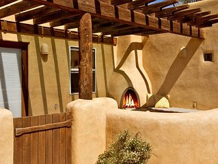 Buena Vista Panoramic Mountain Views Outdoor Kiva Fireplace