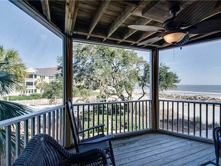 Spectacular Limited Ocean Vistas, Only Steps to Beach Sands and Community Pool