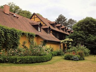 Apartment for 2 to 6 people in the timbered house near Dresden Heath