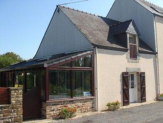 3***-Pont-Aven (sud finistère) 2 chambres dont une rez-chaussée proche GR34+wif