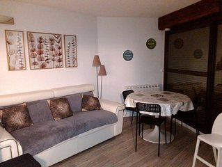 Pla d'Adet appt renovated slopes and hiking departure ideal family