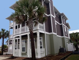 Luxury Gulf View House * 3 King Beds, Bunks, Priv Pool - 5 BATHS* WiFi & Cable