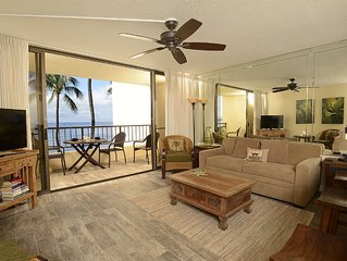 Ocean Front, One bedroom, Completely Renovated! King Bed