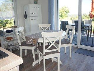3 Raum Ferienwohnung mit Terrasse für 5 Personen - W 1-3 - Inselurlaub mit Ostse