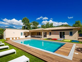 Villa Recente Climatisee - 10 Couchages-3 SdB-Pool-House + Piscine chauffee 28 °