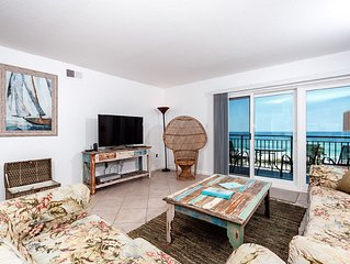 """""""Emerald Isle Unit 610"""" Gulf Front,,,Spring Special 30% off, Stays through Apri"""