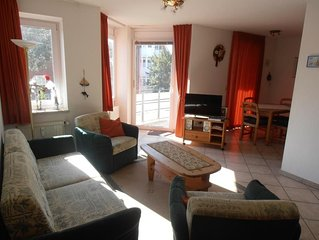 Beautiful 2-room apartment., approx. 55m², Non smoking, 1st floor with south-fa