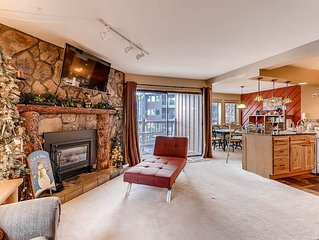 Park Place #C201: 2 BR / 2 BA ski-in in Breckenridge, Sleeps 8