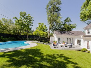 SXSW Must See! Exquisite Luxury Estate Downtown W/Pool, Hot Tub, 5 Bedrooms