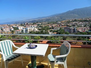 Breathtaking views in Mediterranean Apartment Vistas al Mar, lots of extras