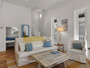 Wonderfully Relaxing-Cozy Pied a Terre-Tuscan Ambience in Rosemary Beach!!!
