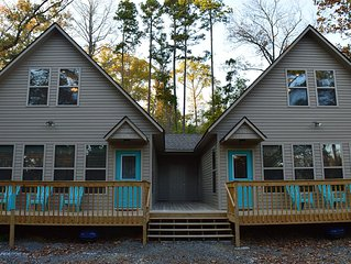 #2 BRAND NEW Rustic Style Duplex near Greers Ferry Lake.