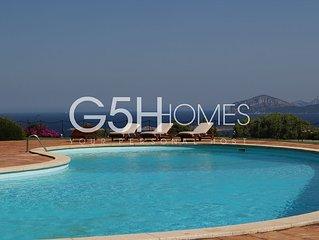 Villa, Porto Cervo, Pevero Golf, free Wi-Fi, air conditioning, swimming pool
