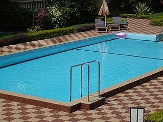 Prestigious Apartment With Pool In Walled Garden, Peaceful Location