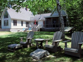 MAY SPECIAL $850-Private Maine Waterfront Cottage on unspoiled Westport Island