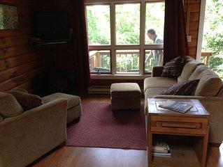 Cozy 1 BR Snowshoe Cabin