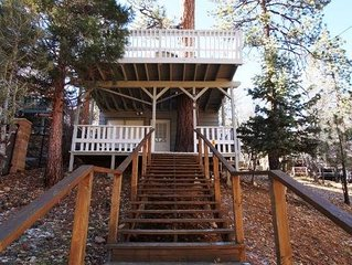 Tree House - Escape to this cozy cabin nestled amongst the trees in Sugarloaf!