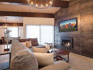 Spacious Condo with Hot Tubs & Pool ~ Across Street from the Gondola!