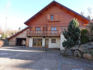 Gerardmer - Chalet 300m2 14 people - View lake - 5 minutes from downtown and th