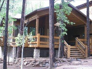 Snowed Inn Cabin - Luxury in Gated White Mountain C.C.