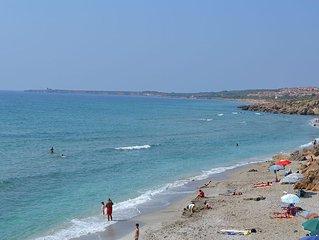 IUN P3629 Appart. vista mare in San Giovanni di Sinis a 100 m dalla spiaggia