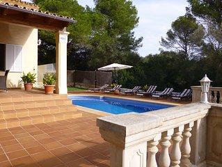 Villa la Reial  In Porto Petro, South East Mallorca.